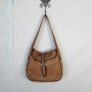JCrew Suede Bag